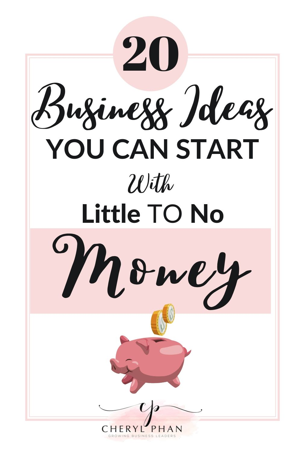 Businesses you can start with little to no money