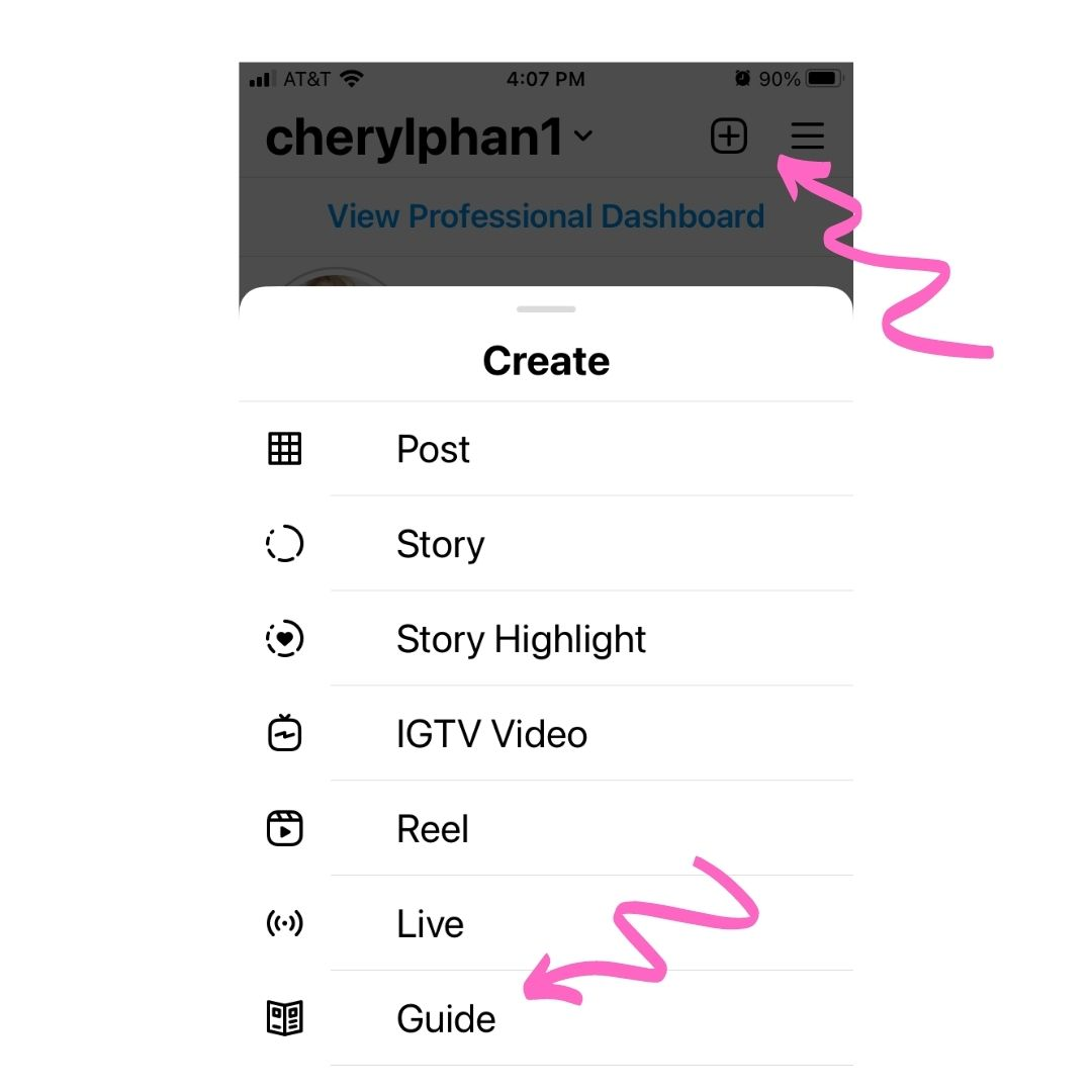 How to Create a Guide on Instagram