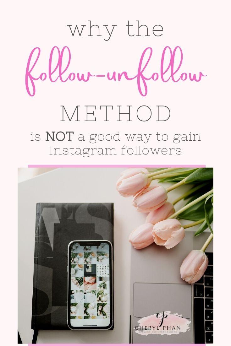 Stop the follow unfollow method on Instagram